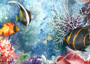 Watercolor Underworlds